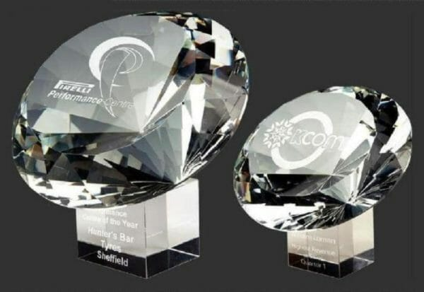 Large Crystal Diamond Award