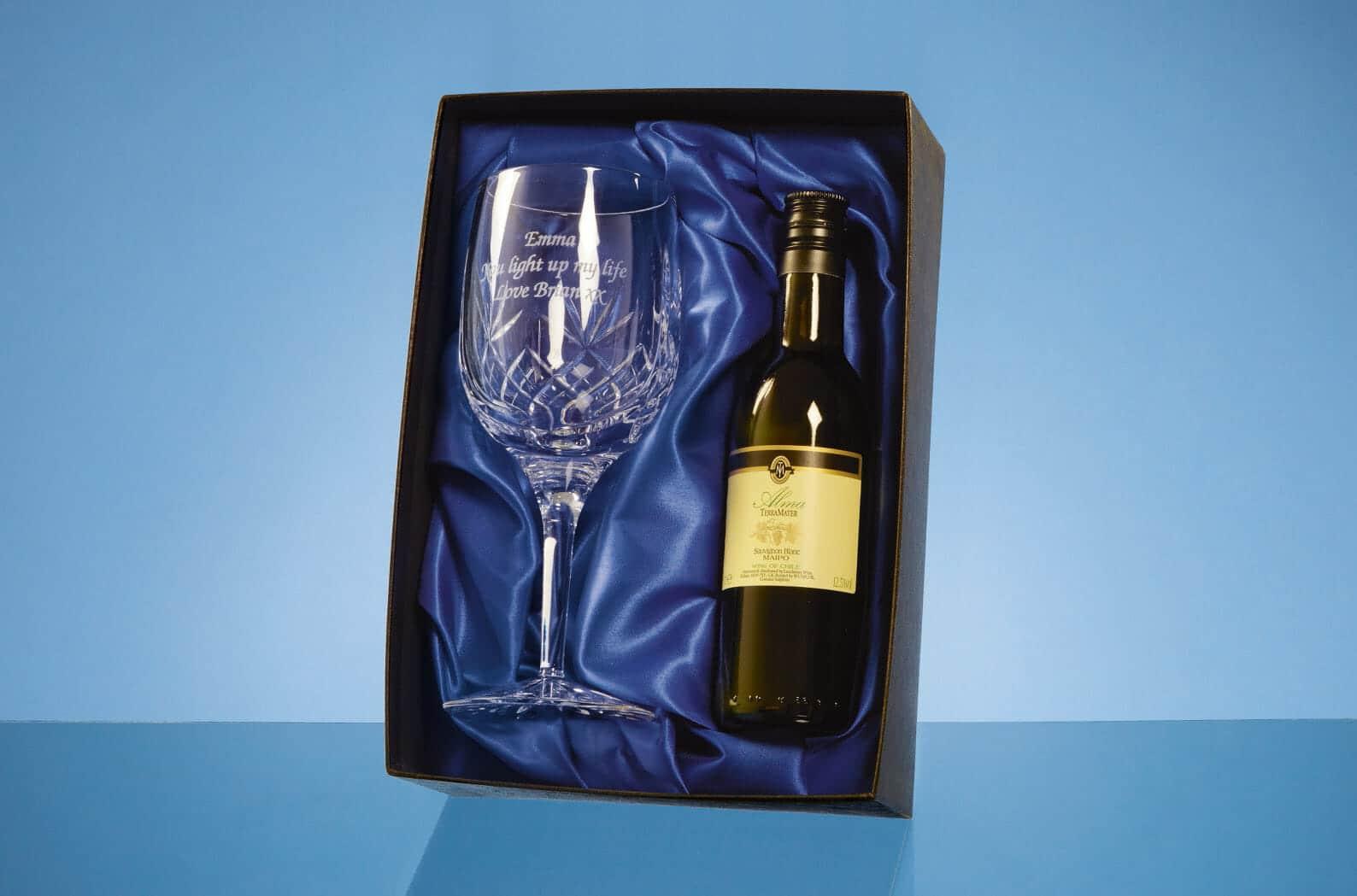 Crystal Goblet Gift Set