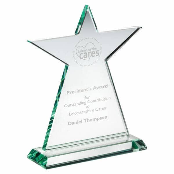 glass-tall-star-plaque