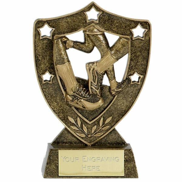 running-shield-trophy