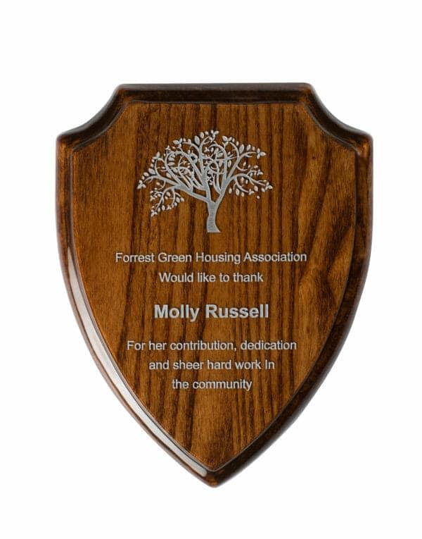 walnut-shield-plaque-tz039