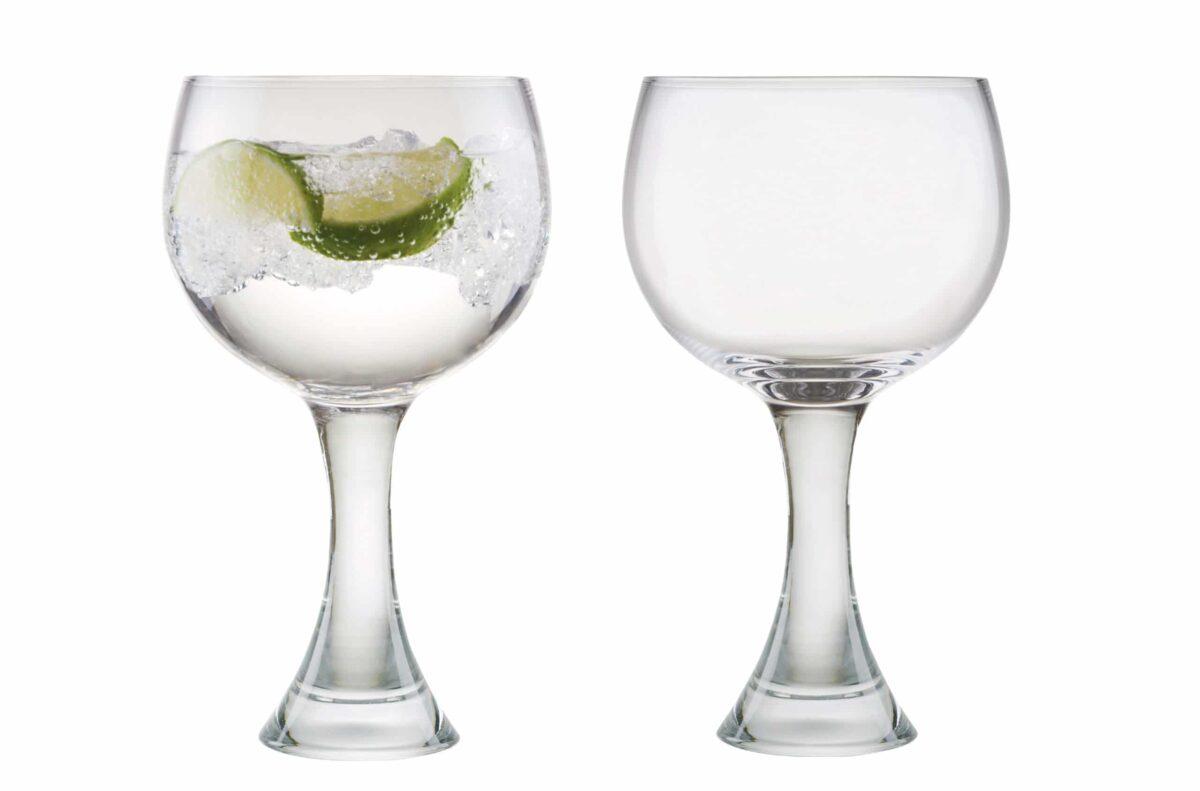 Pair Manhattan Gin Glasses